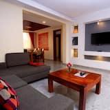 شقة - سرير مزدوج - غرفة معيشة