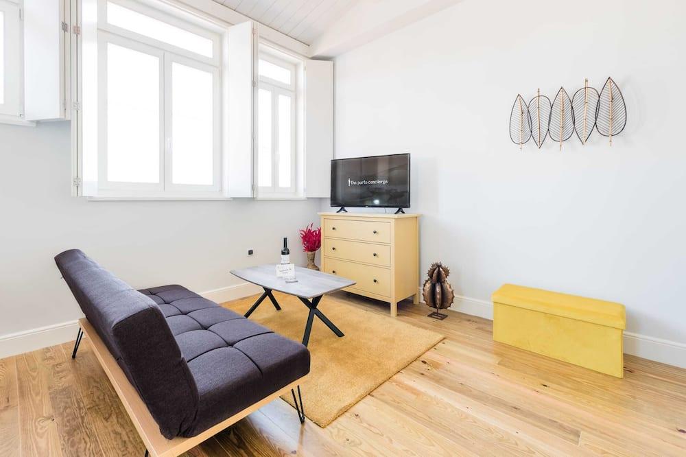 Basic Stüdyo, 1 Çift Kişilik Yatak ve Çekyat - Oturma Odası