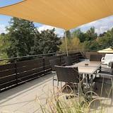 Apartamento Comfort, Casa de Banho Privativa, Vista Jardim (Sonnenterrasse) - Vista a partir das Varandas
