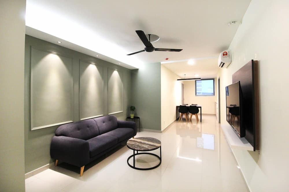 Superior-suite - 2 soveværelser - Stue