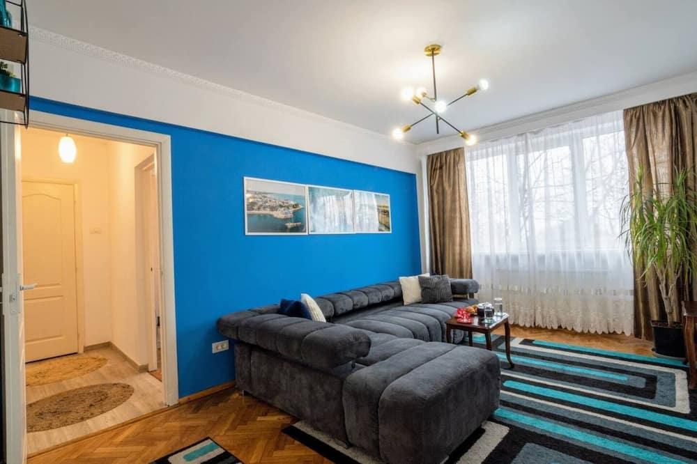 Apartment, 1 Katil Ratu (Queen) dengan Katil Sofa - Bilik Rehat