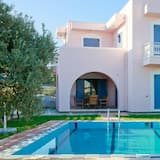Villa Nisyros Large Private Pool Walk to Beach A C Wifi Car Not Required - 1895