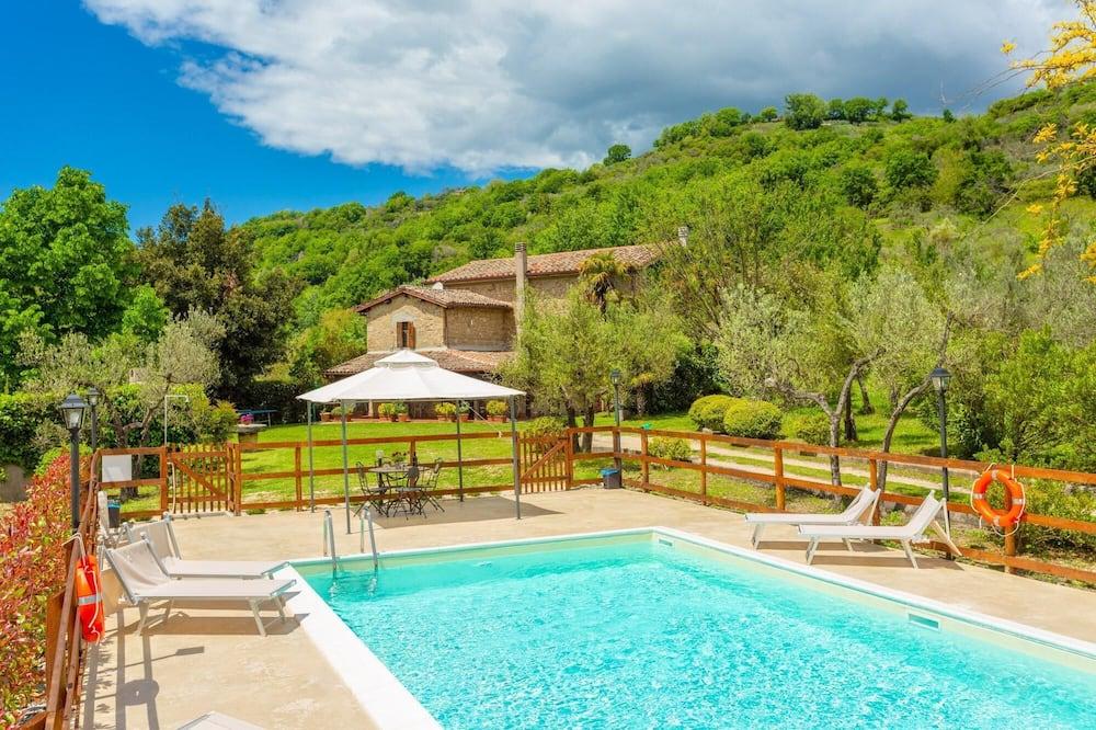 Villa Casale Terra Farfa Large Private Pool Wifi - 2893, Toffia