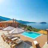 Villa Diona Large Private Pool Walk to Beach Sea Views A C Wifi - 3074