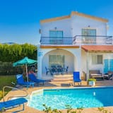 Argaka Sun Villa Tria Large Private Pool Walk to Beach Sea Views A C Wifi - 3271