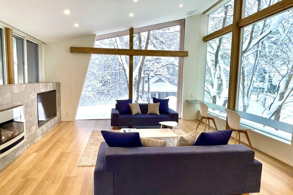 Luxe chalet, niet-roken - Woonruimte