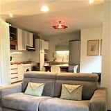 Apartamento Deluxe em Condomínio Fechado - Área de Estar