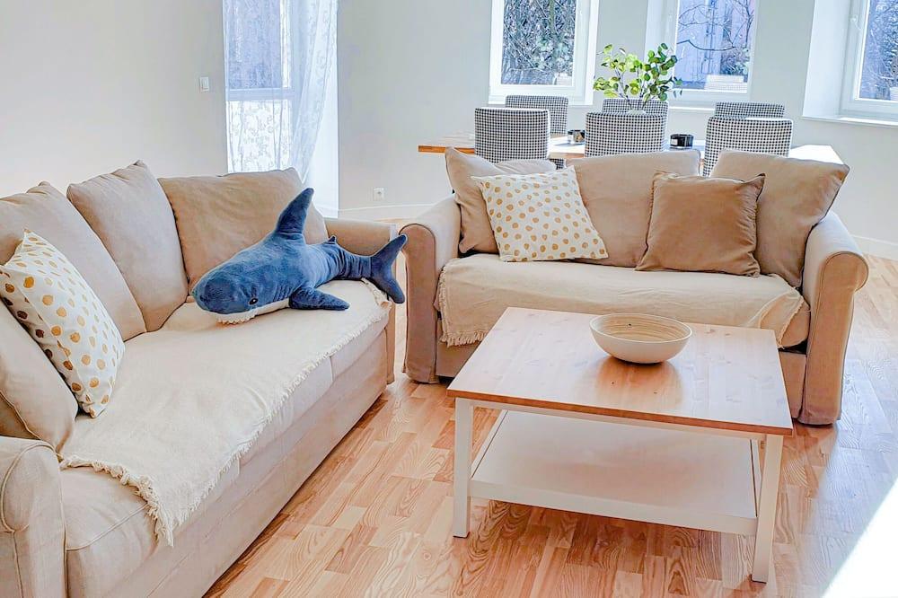 Comfort Studio Suite, 3 Bedrooms, Terrace, City View - Lobby Sitting Area