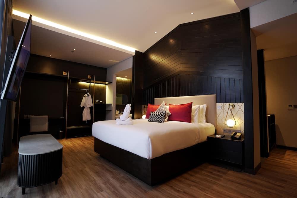 Apartmán, 1 extra veľké dvojlôžko, nefajčiarska izba - Hosťovská izba