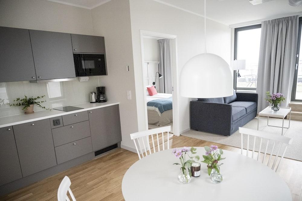 One Bedroom Apartment Large - Área de Estar