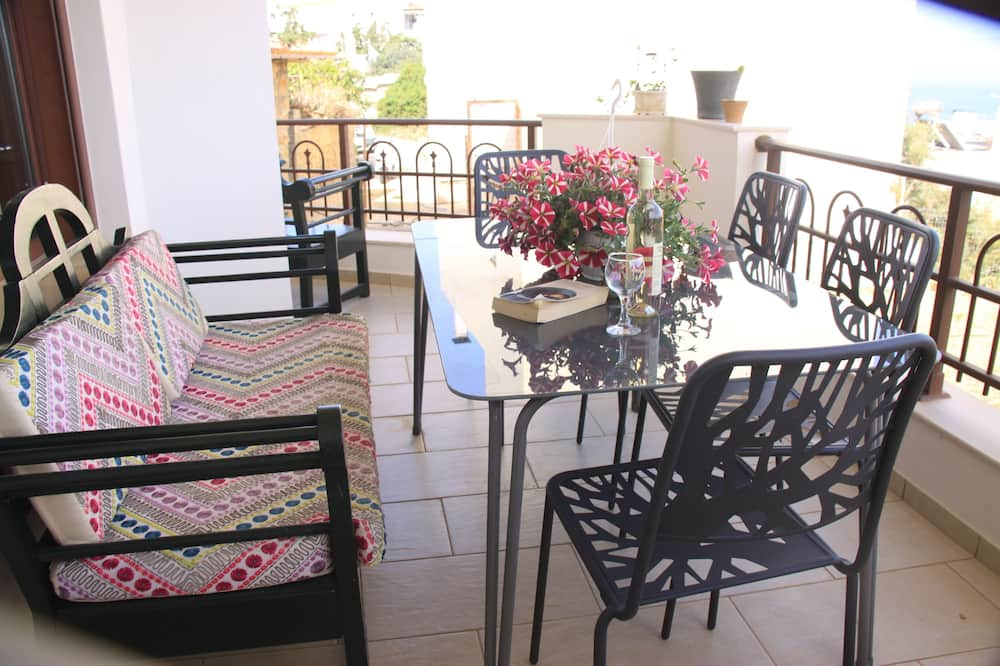 Namas šeimai - Balkonas
