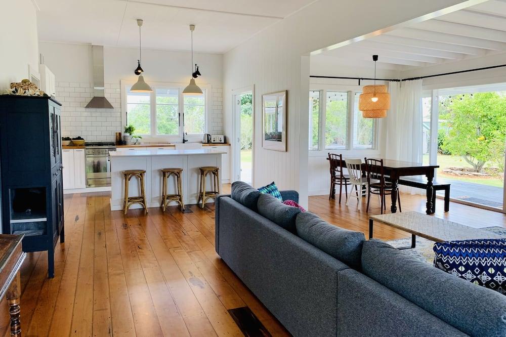 Family Quadruple Room - Living Area