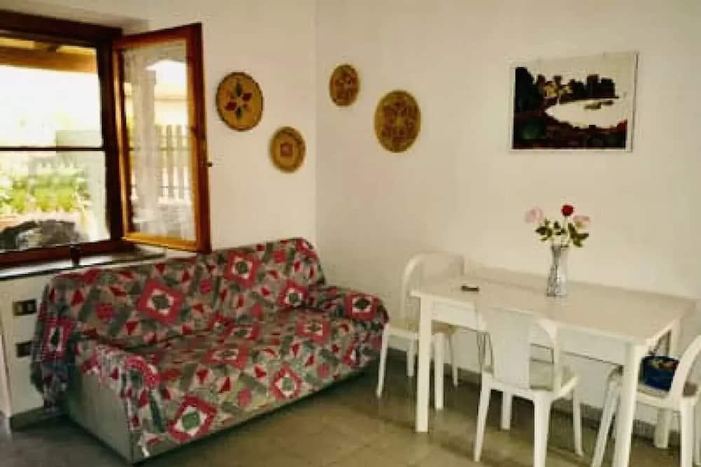 Apartmán, 2 ložnice, přízemí - Obývací prostor