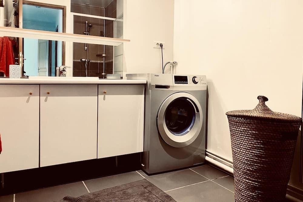 Appartamento, bagno in camera, vista città (Mangold8) - Bagno