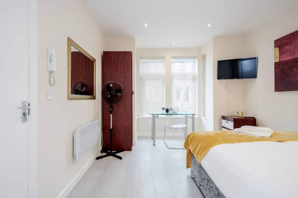 Dzīvokļnumurs, 1 divguļamā karalienes gulta - Numurs