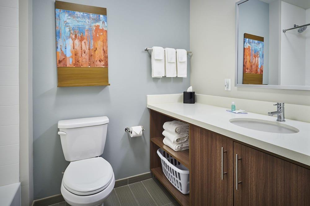 Suite, 1 cama king-size, Acessível, Não-fumadores (Accessible Tub) - Casa de banho