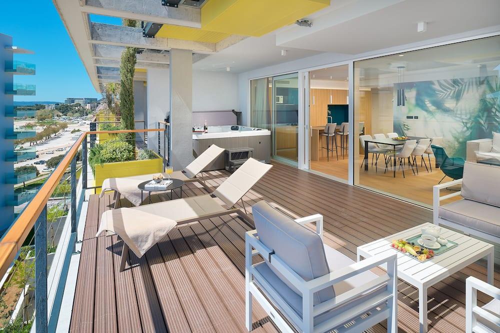 Luxusní apartmán - Balkón