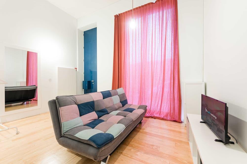 Departamento básico, 1 cama doble - Sala de estar