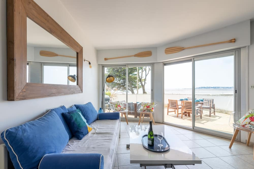 Panoramic Apartment, 1 Bedroom, Sea View - Living Area