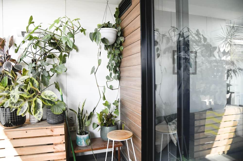Lägenhet Basic - 1 queensize-säng - Balkong