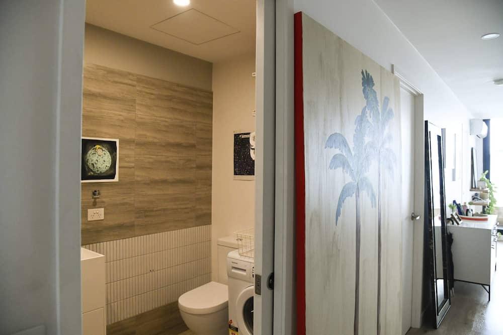 Lägenhet Basic - 1 queensize-säng - Badrum