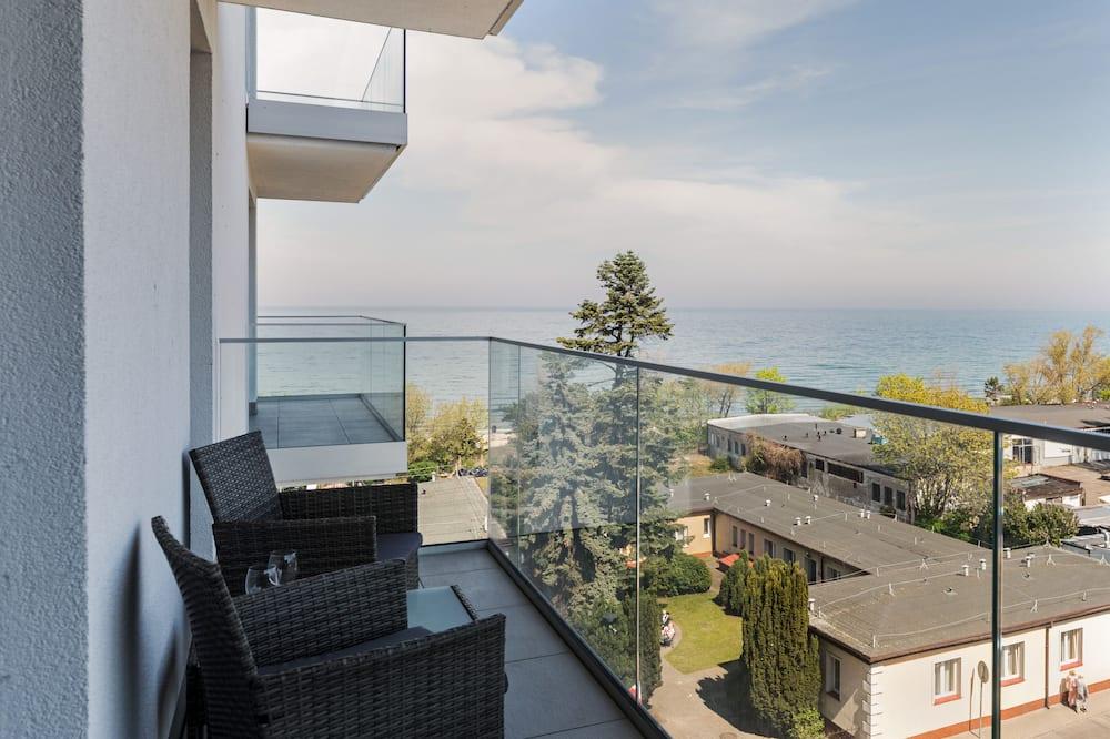Apartman, 1 spavaća soba, balkon, pogled na more - Izdvojena fotografija