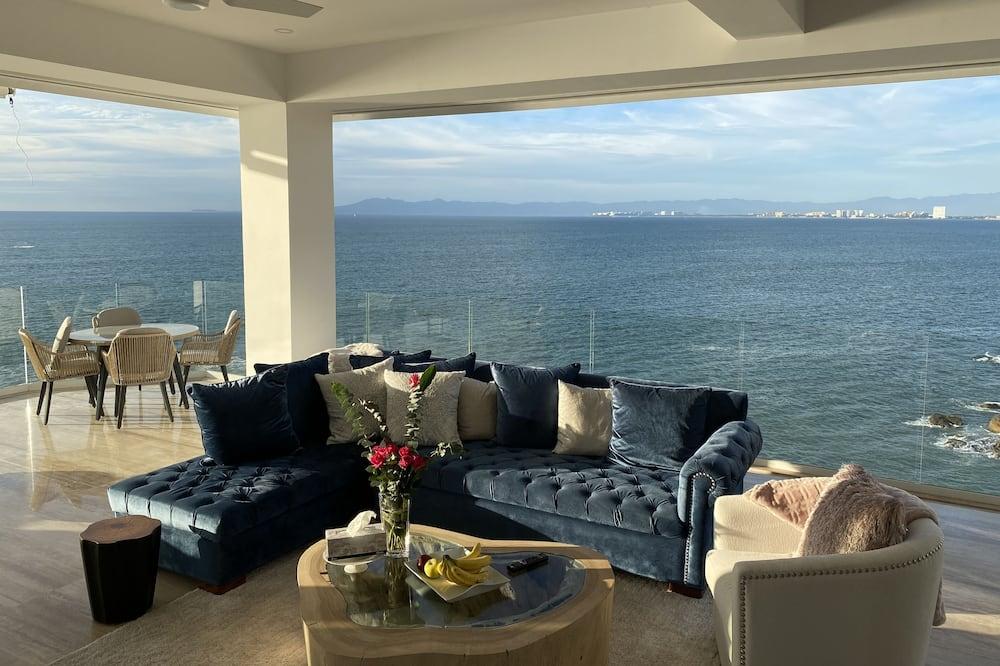 Luxusný byt - Obývacie priestory