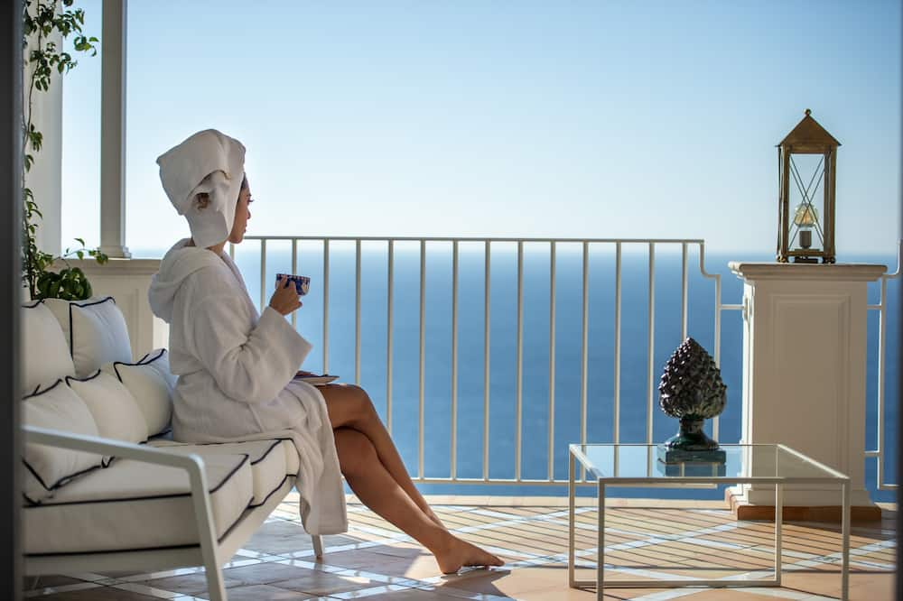 Luxe villa - Balkon
