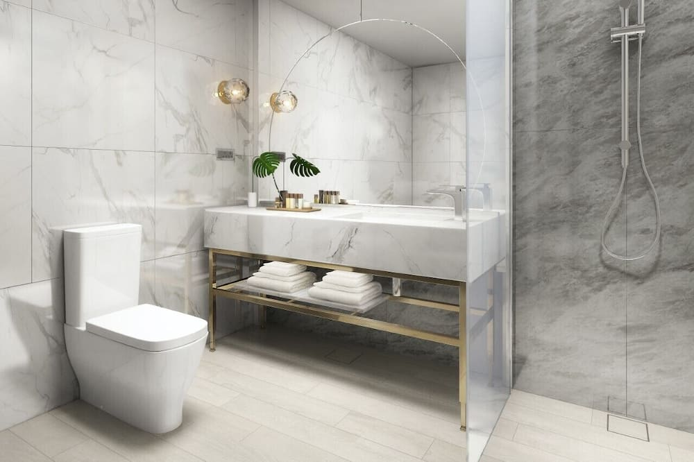 Standardní pokoj, dvojlůžko (200 cm) - Koupelna