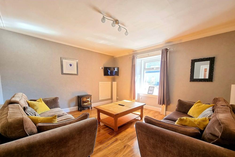 Family Apartment, Fireplace, Garden View - Imej Utama