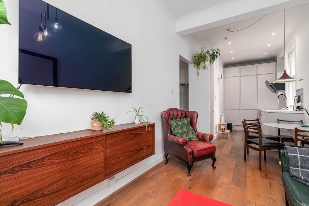 Basic apartman, 1 king size krevet - Dnevna soba
