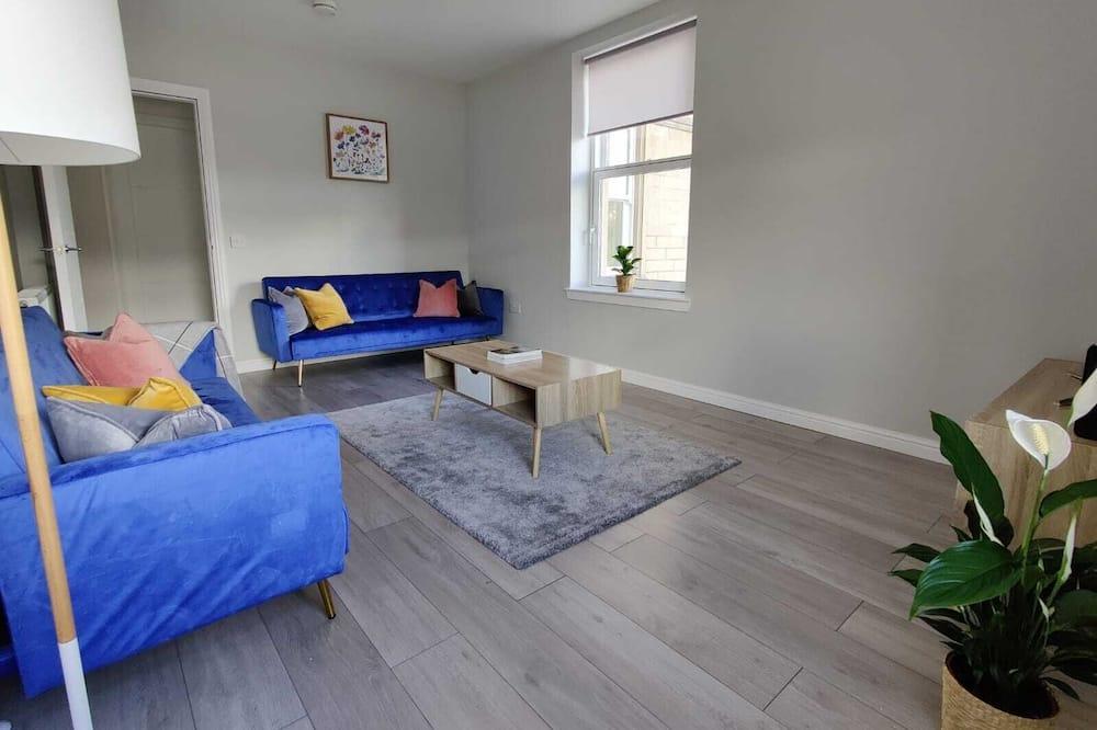 Apartmán, 2 dvojlôžka - Obývačka