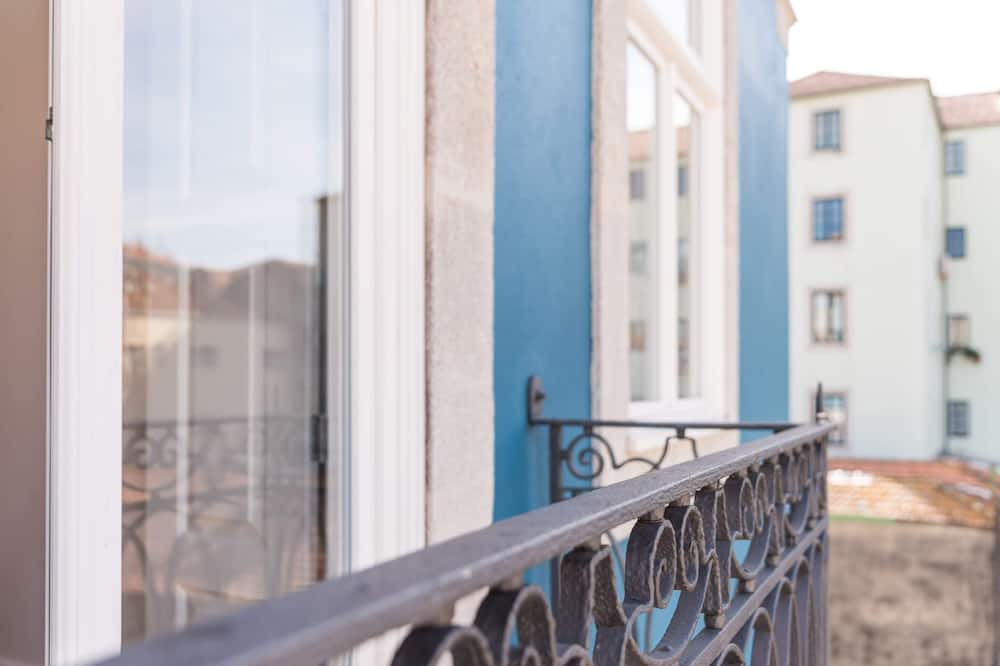 Apartmán typu Basic, 1 veľké dvojlôžko s rozkladacou sedačkou - Balkón