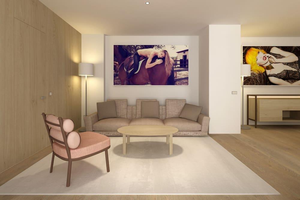 Studio ME + Suite Terrace & Jacuzzi - Living Room