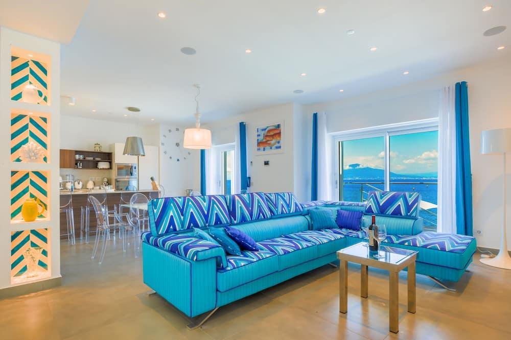 Luxusná vila - Obývacie priestory