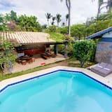 Casa Jardim na praia do Cumbuco
