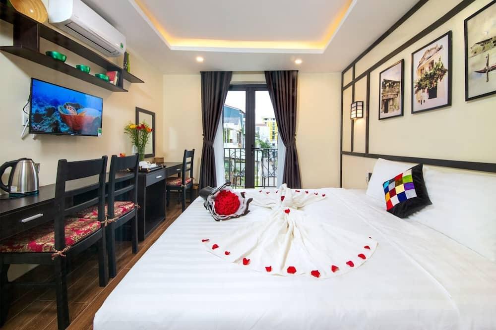 Habitación Deluxe, 1 cama Queen size, balcón, vista al río - Vista al balcón