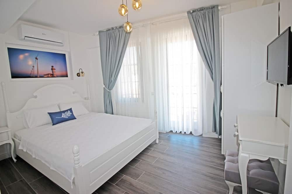Deluxe Double Room, Balcony, Sea View - Imej Utama