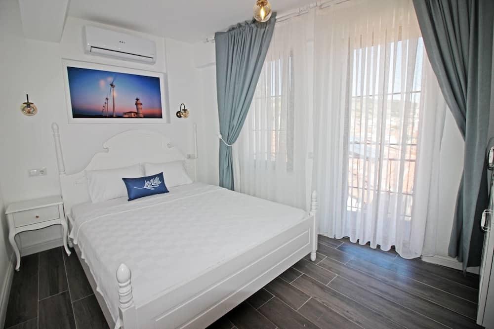 Dvojlôžková izba typu Deluxe, balkón, výhľad na more - Obývacie priestory