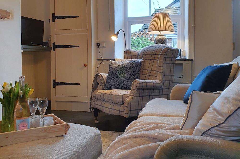 Cottage, 1 Queen Bed - Living Room