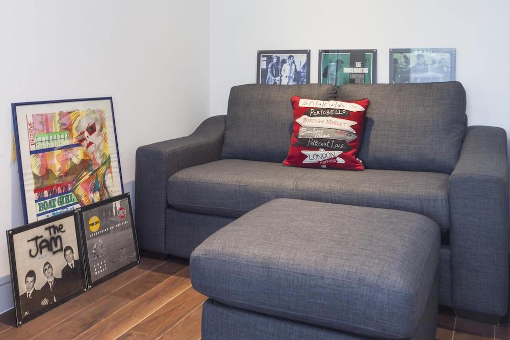อพาร์ทเมนท์ (1 Bedroom) - พื้นที่นั่งเล่น