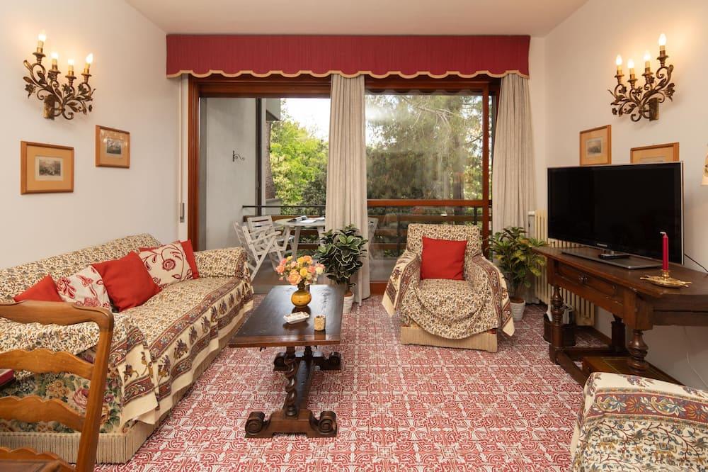 Apartamentai šeimai, 4 miegamieji - Svetainės zona