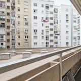 Apartmán, 5 spální, fajčiarska izba, 2 kúpeľne - Balkón
