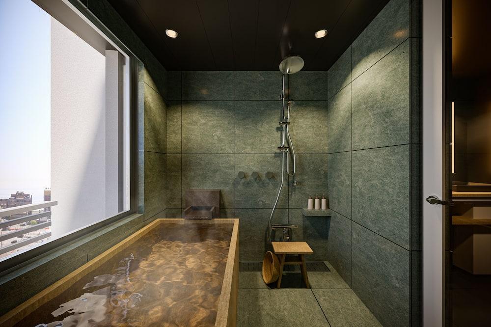Deluxe-Suite, 6Schlafzimmer, Nichtraucher, Whirlpool - Badezimmer