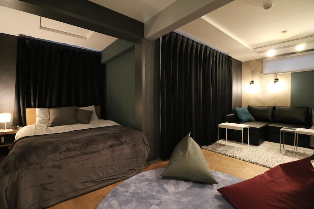 Basic Double Room, 1 Double Bed with Sofa bed, Kitchen - Room