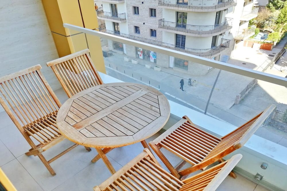 Standard apartman - Erkély