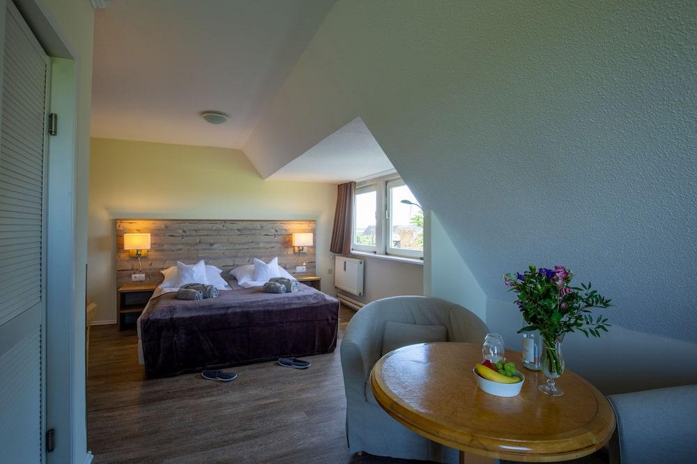 Comfort kamer, 1 twee- of 2 eenpersoonsbedden - Woonruimte