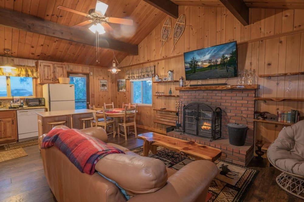 Cabaña, 3 habitaciones - Sala de estar
