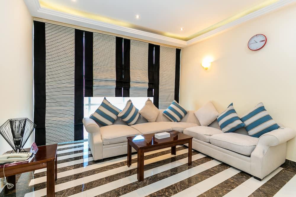 Deluxe Apartment - Ruang Tamu
