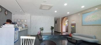 Jeju Şehri bölgesindeki Apple Hotel resmi